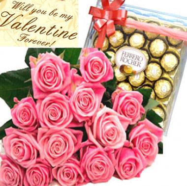 Be Mine Valentine Funeral Flowers Philippines