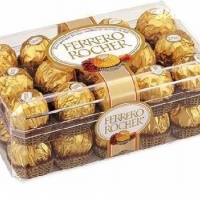 30 pieces of Ferrero