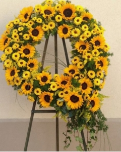 Radiant Sun Wreath