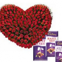 Heart & Cadbury for Your Love...