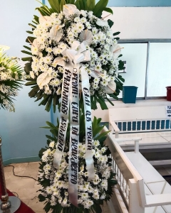 Funeral_Tribute in White